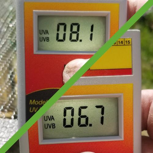 solar meter reading for ClearMesh 25
