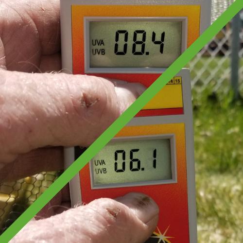 UV test results for ClearMesh 35