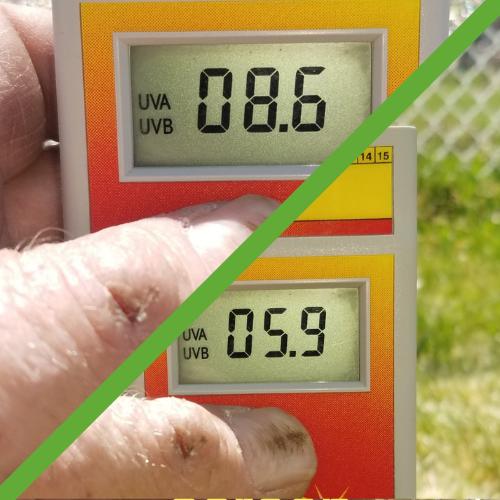UV test results for ClearMesh HT