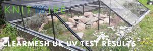 ClearMesh UK UV Testing Results
