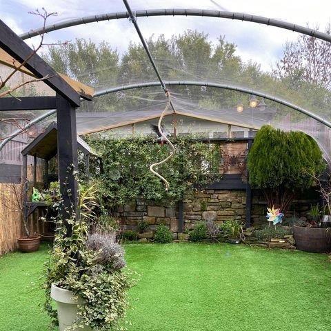 aviary mesh covering garden