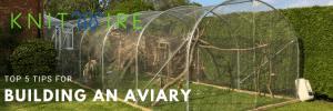 backyard poly tunnel aviary